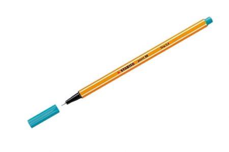 STABILO Liner point 88 tyrkysová 0,4mm