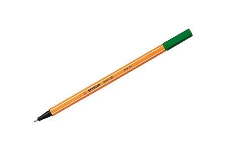 STABILO Liner point 88 zelená 0,4mm