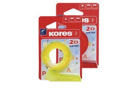 KORES Lepící páska s odvíječem 2D 19mmx10m