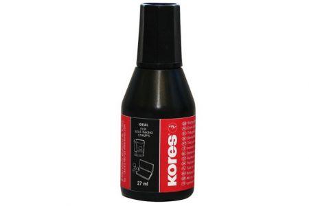KORES Razítková barva 28 ml černá