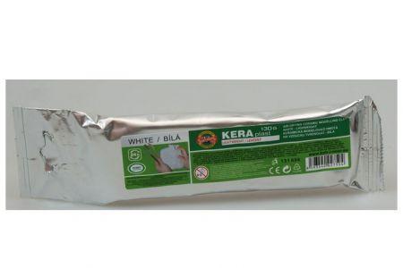 KOH-I-NOOR Hmota modelovací 131696 keraplast lehčený bílý 130g