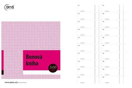 Bonová kniha A4 OPTYS