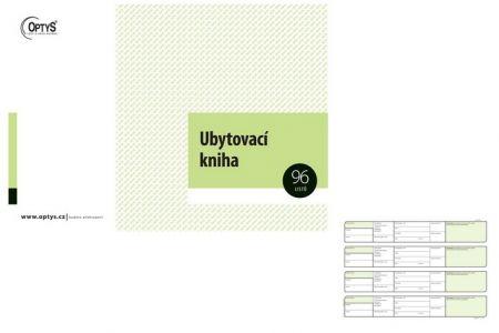 Ubytovací kniha A4 96 listů OPTYS