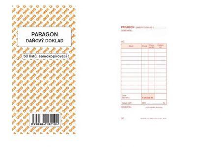 Paragon obchodní daňový samopropisovací 50 listů OPTYS