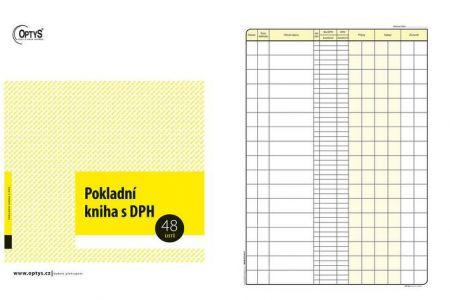 Pokladní kniha s DPH A4 OPTYS