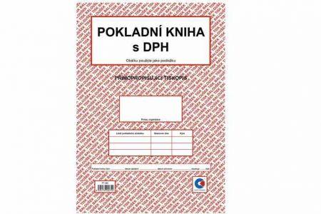 Pokladní kniha s DPH A4 Baloušek Tisk