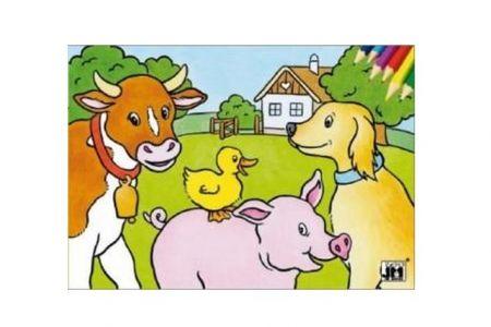 Omalovánky A5 Domácí zvířata