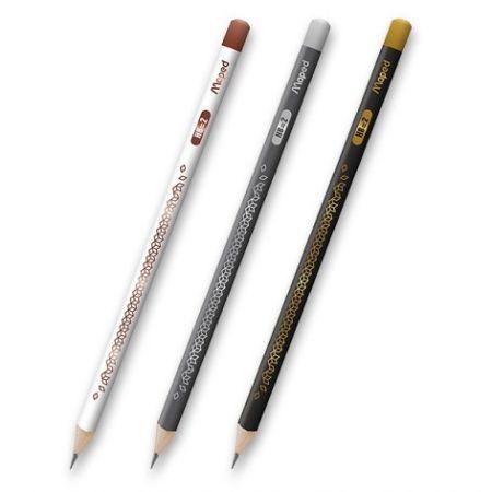 Tužka Maped Deco tvrdost HB (číslo 2), mix barev