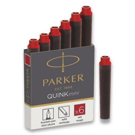 Inkoustové mini bombičky Parker červené