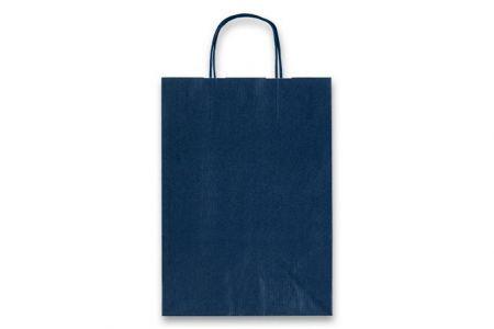 Dárková taška Allegra TMAVĚ MODRÁ 160x80x210mm XS