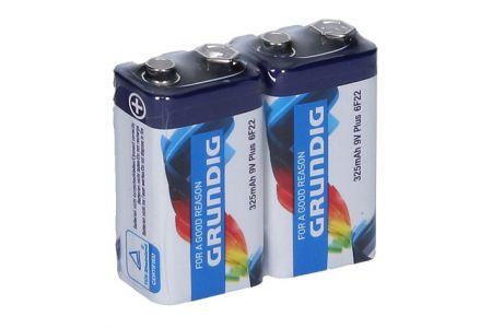 Baterie 1 ks 9V/6F22 zinc.