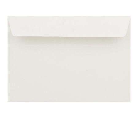 Obálka dopisní barevná C6, 120 g rovná klopa bílá