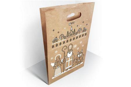 Papírová taška Mikuláš 19x34x6cm MFP