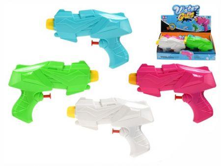 Vodní pistole 15,5cm 4barvy
