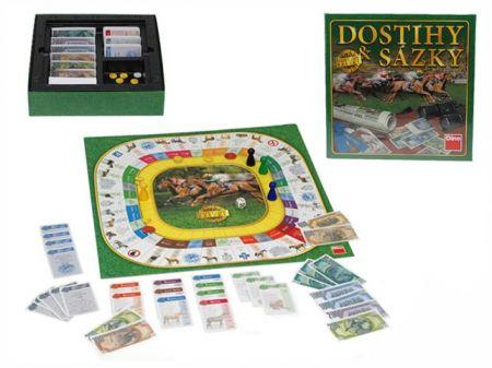 Hra Dostihy a sázky v krabičce