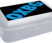 Box na svačinu OXY Oxy blue / P+P KARTON - OXYBAG - OXY BAG
