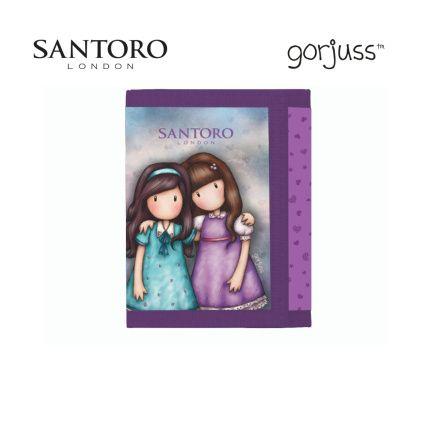 Dětská textilní peněženka Friends Walk Together / P+P KARTON - OXYBAG - OXY BAG