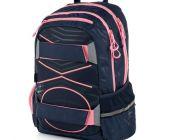 Studentský batoh OXY Sport PASTEL LINE pink / P+P KARTON - OXYBAG - OXY BAG