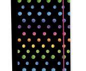 Box na sešity A4 Jumbo Dots colors / P+P KARTON - OXYBAG - OXY BAG