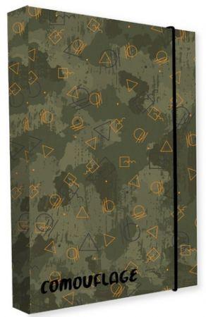 Box na sešity A4 Army / P+P KARTON - OXYBAG - OXY BAG