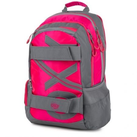 Studentský batoh OXY Sport NEON LINE Pink / P+P KARTON - OXYBAG - OXY BAG