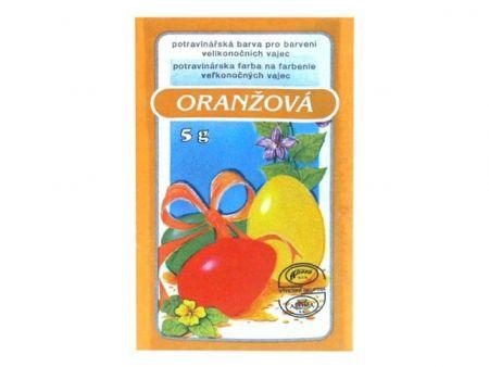 Velikonoční barvy na vajíčka 701 oranžová 5g MFP