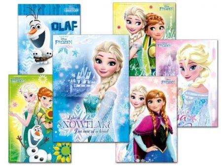 Pohlednice sr Y016 F Disney (Frozen) UV