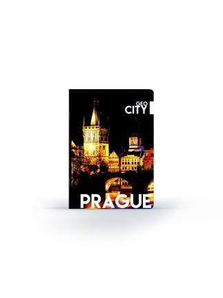 Sešit A4 444, UV lak GEO CITY Prague 7-61417