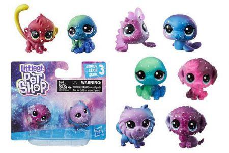 Littlest Pet Shop Kosmická zvířátka 2ks LPS