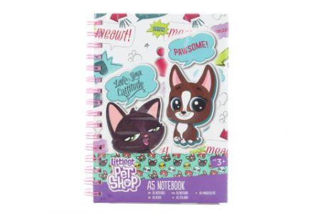 Littlest Pet Shop Kroužkový zápisník A5 LPS