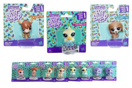 Littlest Pet Shop Samostatné zvířátko 1.serie LPS