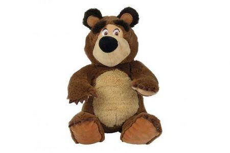 Plyšový medvěd sedící 20cm Máša a a medvěd 0m+
