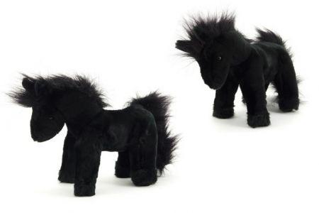 Kůň stojící plyš 26 cm (plyšový-koník)