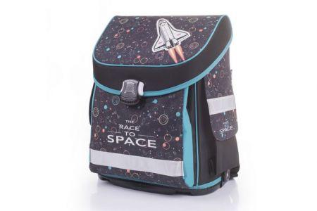 Školní anatomický batoh PREMIUM FLEXI Raketa - Raketoplán (Aktovka OxyBag Karton P+P)