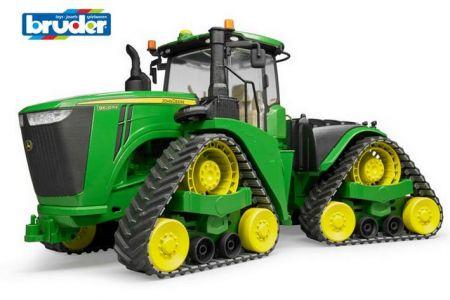 BRUDER 04055 (4055) Traktor John Deere 9620RX s pásovým pohonem