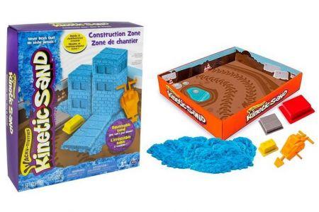 Kinetic Sand Stavba 290g (modrý)