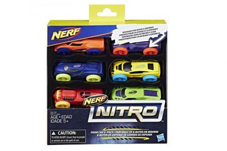 NERF Nitro náhradní nitro (auta) 6 ks