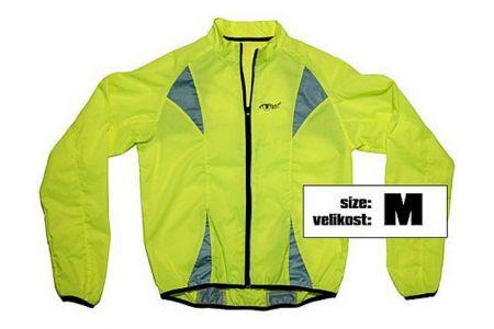 Výstražná (reflexní) bunda ŽLUTÁ velikost M