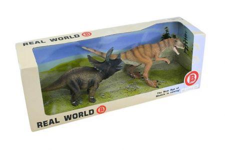Sada dinosauři, 2ks v krabici
