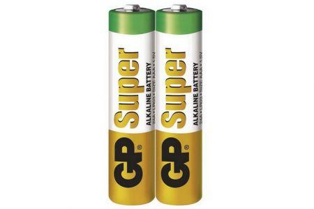 -Baterie AAA mikrotužka 1.5V 2 kusy GP SuperAlkaline ve fólii (GP  LR03) Alkalická baterie