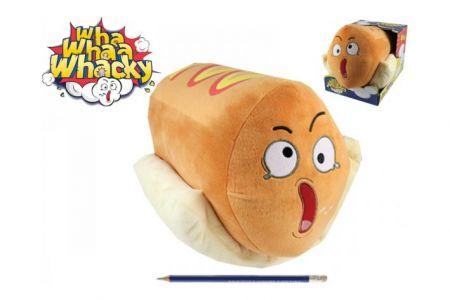 Wha Whaa Whacky Hot Dog 28cm plyš na baterie