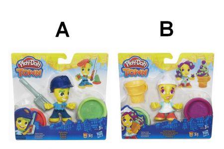Play-Doh TOWN Figurka, 2 druhy PD