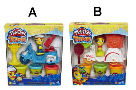 Play-Doh TOWN Vozidla, 2 druhy PD