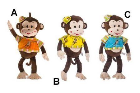 Plyšová opička Matylda 35 cm, 3druhy