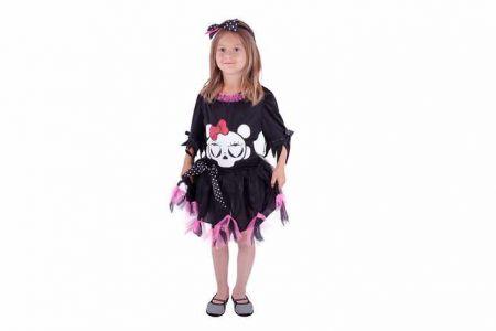 Kostým slečna Monster, vel.XS HALLOWEEN (halloweenský-karnevalový-doplněk)