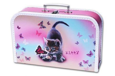 EMIPO Dětský kufřík KITTY (kotě kočka)