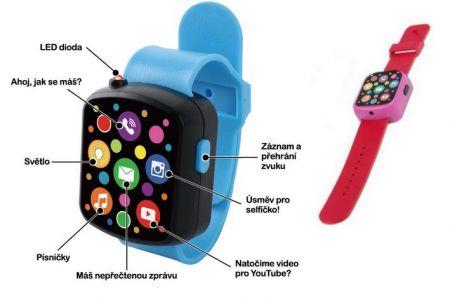 Chytré hodinky na baterie, 2druhy