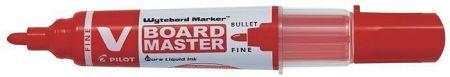 """Popisovač na bílou tabuli """"V- Board Master"""", červená, 2,3 mm, klínový hrot, PILOT"""