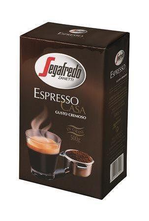 """Káva zrnková, pražená, vakuově balené, 500 g, SEGAFREDO """"Espresso Casa"""""""