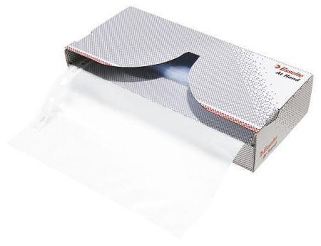 "Euroobaly ""At Hand"" v krabici, čirá, A4, 43 mikronů, matný, ESSELTE"